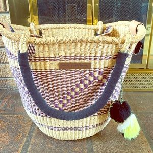 Petunia Pickle Bottom Straw Diaper Bag Tote